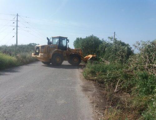 """ΟΙΝΙΑΔΕΣ: Πιάνουν """"δουλειά"""" οι μπουλντόζες για την ανακατασκευή του δρόμου για την πλαζ του Λούρου"""