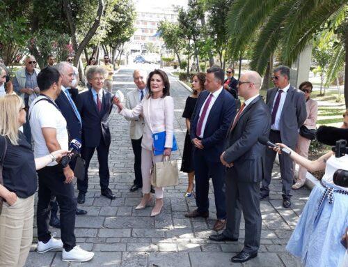 """Γιάννα Αγγελοπούλου: """"Η ιστορία, ο φυσικός πλούτος και η ομορφιά του Μεσολογγίου να ανοίξουν παράθυρο στο μέλλον"""" (VIDEO)"""