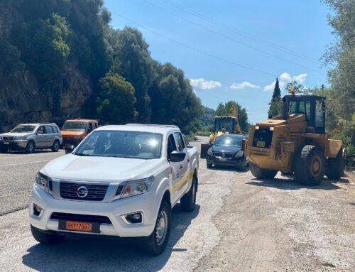 Ξεκίνησαν εργασίες συντήρησης και αποκατάστασης στην εθνική οδό Αντιρρίου – Ιωαννίνων