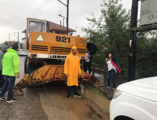 """Χωρίς πλημμυρικά φαινόμενα η """"επέλαση"""" του ΙΑΝΟΥ στην Αιτωλοακαρνανία (ώρα 15:30) – Συνεχείς όμως οι παρεμβάσεις του μηχανισμού πολιτικής προστασίας σε επικίνδυνα σημεία"""