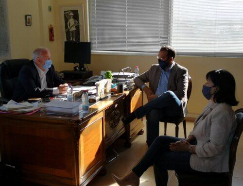 Επιτάχυνση για ολοκληρωμένες μελέτες ζήτησε ο Νεκτάριος Φαρμάκης από τον δήμαρχο Μεσολογγίου