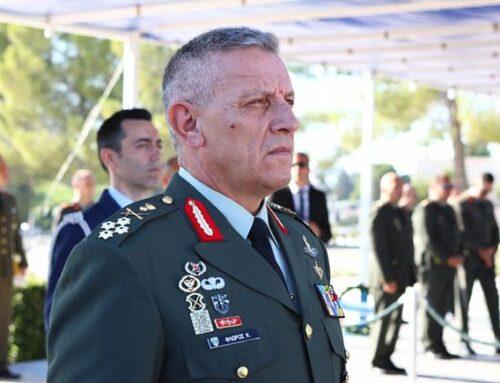 """Στρατηγός Κ. Φλώρος: """"Έχουμε την ικανότητα να τον κάνουμε να το πληρώσει πολύ ακριβά…""""  – Με  αυτοπεποίθηση για την αποτρεπτική ικανότητα η ημερήσια διαταγή του Αρχηγού ΓΕΕΘΑ για την Ημέρα των Ενόπλων Δυνάμεων (VIDEO)"""