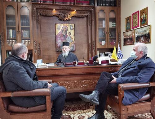Κώστας Λύρος: «Η Εκκλησία πολύτιμος συνεργάτης στις εκδηλώσεις του 2021»