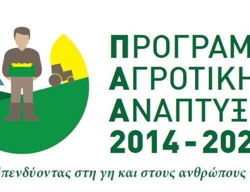 Παράταση λόγω COVID-19 στα επενδυτικά σχέδια του Leader από το Υπουργείο Αγροτικής Ανάπτυξης