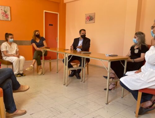 Με τον δήμαρχο Ξηρομέρου συναντήθηκε ο Θ. Παπαθανάσης για ζητήματα της περιοχής