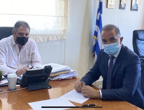 Προτάσεις για το νοσοκομείο Αγρινίου κατέθεσε ο Μάριος Σαλμάς στον διοικητή της 6ης ΥΠΕ (VIDEO)