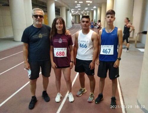 """Αξιοπρεπείς εμφανίσεις των αθλητών του """"Τρικούπη"""" στο Διασυλλογικό Στίβου Κ18"""