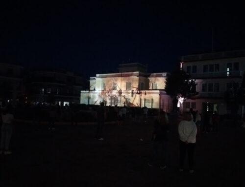 ΜΕΣΟΛΟΓΓΙ: Εντυπωσίασε η προβολή «Επιθυμία Ελευθερίας» στην πρόσοψη του παλαιού δημαρχείου (VIDEO)