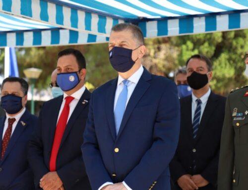 ΜΕΣΟΛΟΓΓΙ: Ο Υφ. Άμυνας Αλκιβιάδης Στεφανής στην εκδήλωση μνήμης των AHEPA για τους φιλέλληνες