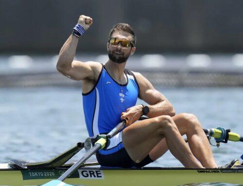"""""""Χρυσός"""" ολυμπιονίκης στην κωπηλασία ο Στέφανος Ντούσκος!"""