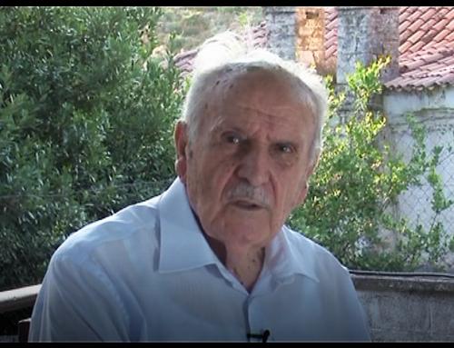 Ο δήμαρχος Μεσολογγίου Κ. Λύρος για τον θάνατο του Ν. Βούλγαρη