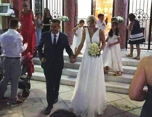 """ΜΕΣΟΛΟΓΓΙ: Με τα """"δεσμά του γάμου"""" ενώθηκαν οι γνωστοί επιχειρηματίες Β. Κώτσης και Αλ. Αθανασοπούλου"""
