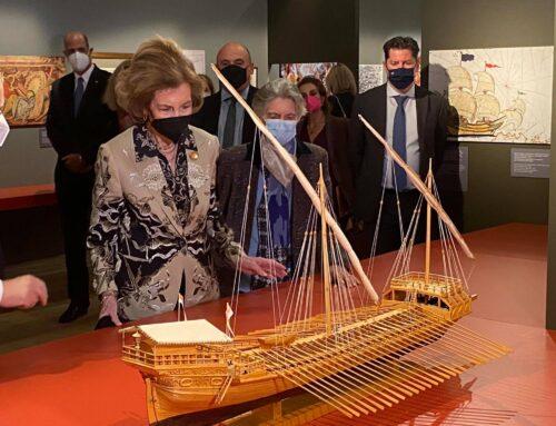 Στην Έκθεση «ΝΑΥΠΑΚΤΟΣ 1571» ξεναγήθηκε η Βασίλισσα της Ισπανίας Σοφία